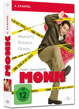 Monk: 2. Staffel (4 DVDs)
