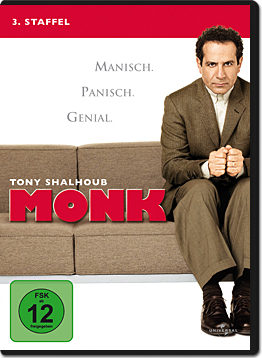 Monk: Staffel 3 (4 DVDs)