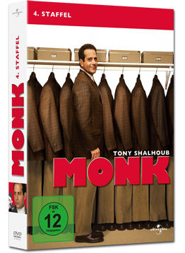 Monk: 4. Staffel (4 DVDs)