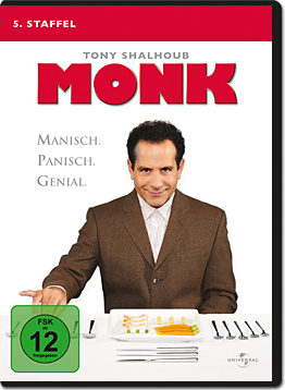 Monk: Staffel 5 (4 DVDs)