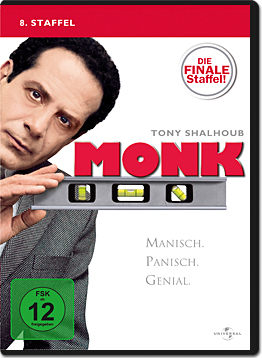 Monk: Staffel 8 (4 DVDs)