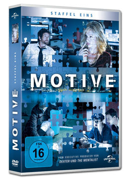 Motive: Staffel 1 Box (4 DVDs)