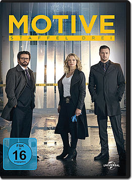 Motive: Staffel 3 Box (3 DVDs)