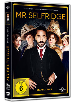Mr Selfridge: Staffel 1 Box (3 DVDs)