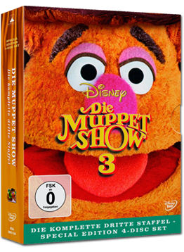 Die Muppet Show: Staffel 3 Box (4 DVDs)