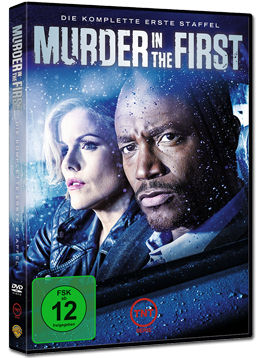 Murder in the First: Staffel 1 Box (3 DVDs)