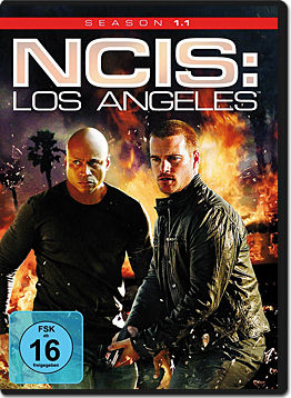 NCIS: Los Angeles - Staffel 1 Teil 1 (3 DVDs)