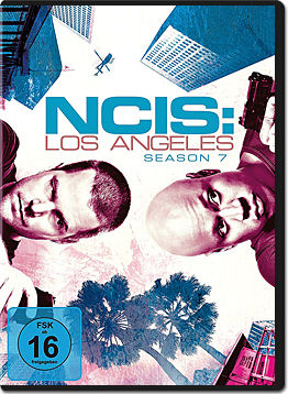 NCIS: Los Angeles - Staffel 7 Box (6 DVDs)