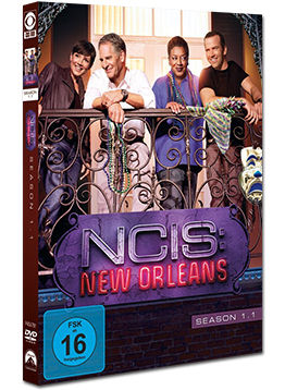 NCIS: New Orleans - Staffel 1.1 (3 DVDs)