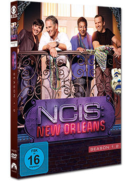 NCIS: New Orleans - Staffel 1.2 (3 DVDs)