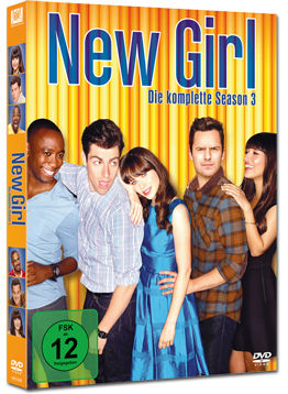 New Girl: Staffel 3 Box (3 DVDs)