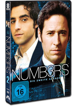 Numb3rs: Season 2 Box (6 DVDs)