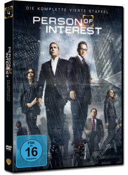 Person of Interest: Staffel 4 Box (6 DVDs)