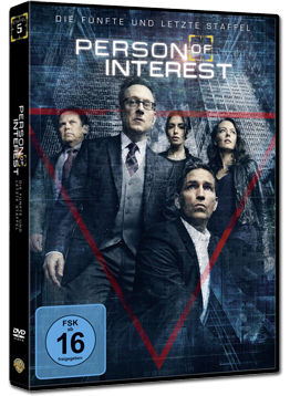 Person of Interest: Staffel 5 Box (3 DVDs)
