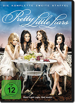 Pretty Little Liars: Staffel 2 (6 DVDs)