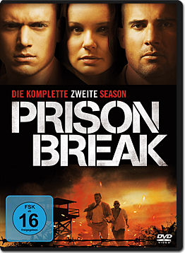 Prison Break: Staffel 2 Box (6 DVDs)