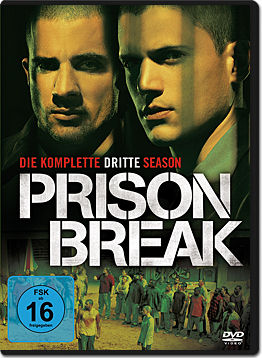 Prison Break: Staffel 3 Box (4 DVDs)