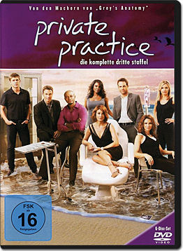 Private Practice: Staffel 3 Box (6 DVDs)