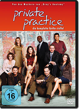 Private Practice: Staffel 5 Box (6 DVDs)