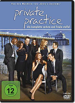 Private Practice: Staffel 6 Box (3 DVDs)