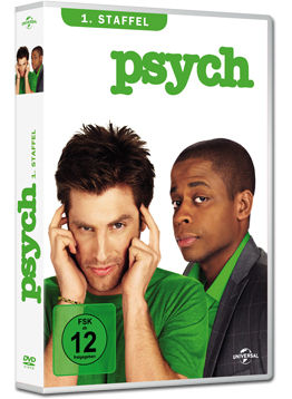 Psych: Staffel 1 Box (4 DVDs)