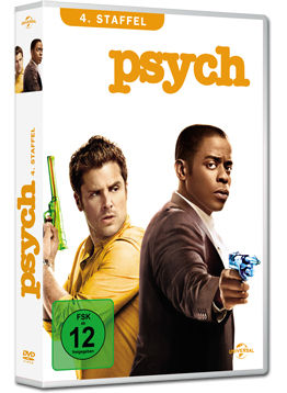 Psych: Staffel 4 Box (4 DVDs)