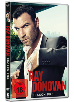 Ray Donovan: Staffel 3 Box (4 DVDs)