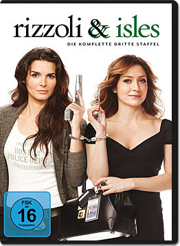 Rizzoli & Isles: Staffel 3 Box (3 DVDs)
