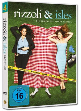 Rizzoli & Isles: Staffel 4 Box (4 DVDs)