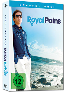 Royal Pains: Staffel 3 Box (4 DVDs)