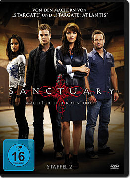 Sanctuary: Wächter der Kreaturen - Staffel 2 Box (4 DVDs)