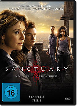 Sanctuary: Wächter der Kreaturen - Staffel 3 Teil 1 (3 DVDs)