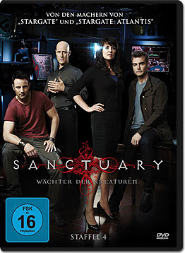 Sanctuary: Wächter der Kreaturen - Staffel 4 Box (4 DVDs)