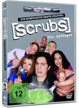Scrubs: Staffel 1 Box (4 DVDs)
