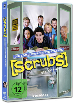 Scrubs: Staffel 3 Box (4 DVDs)