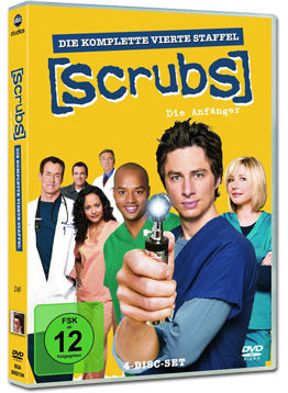 Scrubs: Staffel 4 Box (4 DVDs)