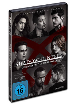Shadowhunters: Chroniken der Unterwelt - Staffel 2 (5 DVDs)