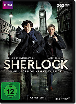 Sherlock: Staffel 1 Box (2 DVDs)