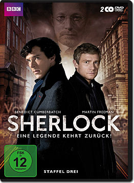 Sherlock: Staffel 3 Box (2 DVDs)