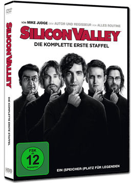 Silicon Valley: Staffel 1 Box (2 DVDs)