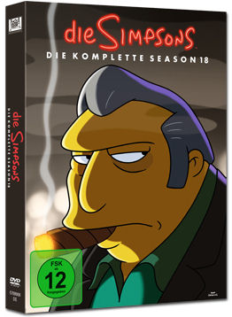 Simpsons: Staffel 18 Box (4 DVDs)