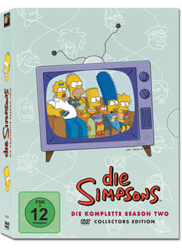 Simpsons: Staffel 02 Box (4 DVDs)