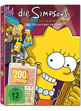 Simpsons: Season 09 Box (4 DVDs)
