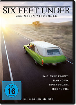 Six Feet Under: Staffel 5 Box (5 DVDs)