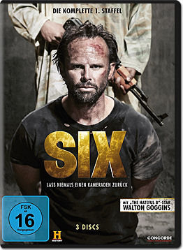 Six: Staffel 1 (3 DVDs)