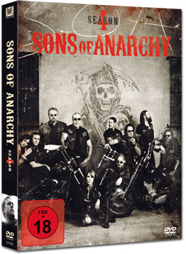 Sons of Anarchy: Staffel 4 (4 DVDs)