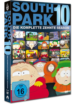 South Park: Staffel 10 (3 DVDs)