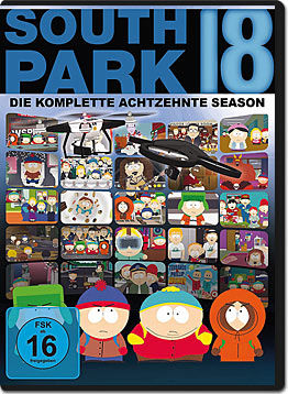 South Park: Staffel 18 (2 DVDs)