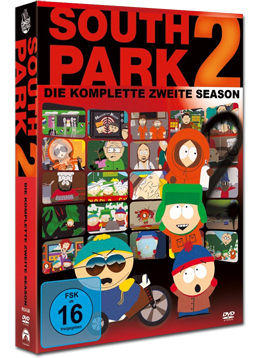 South Park: Staffel 02 Box (3 DVDs)