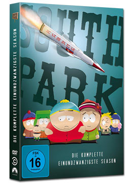 South Park: Staffel 21 (2 DVDs)